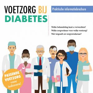 Cover brochure Voetzorg bij diabetes