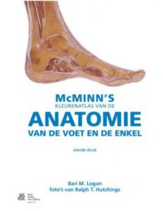 Cover McMinn's Kleurenatlas van de anatomie van de voet en de enkel