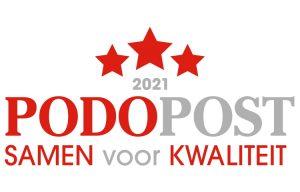Logo Podopost Samen voor Kwaliteit