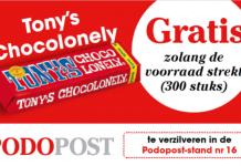 Podopost beursactie Tony Chocolonely